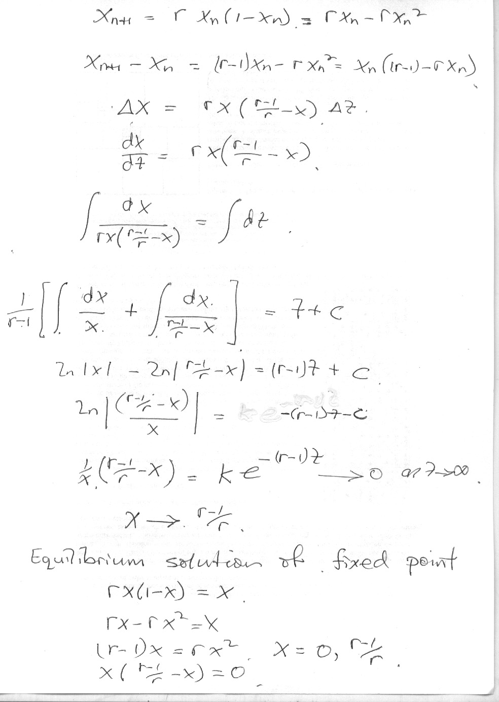 Maths 745 logistic differential equation ccuart Image collections